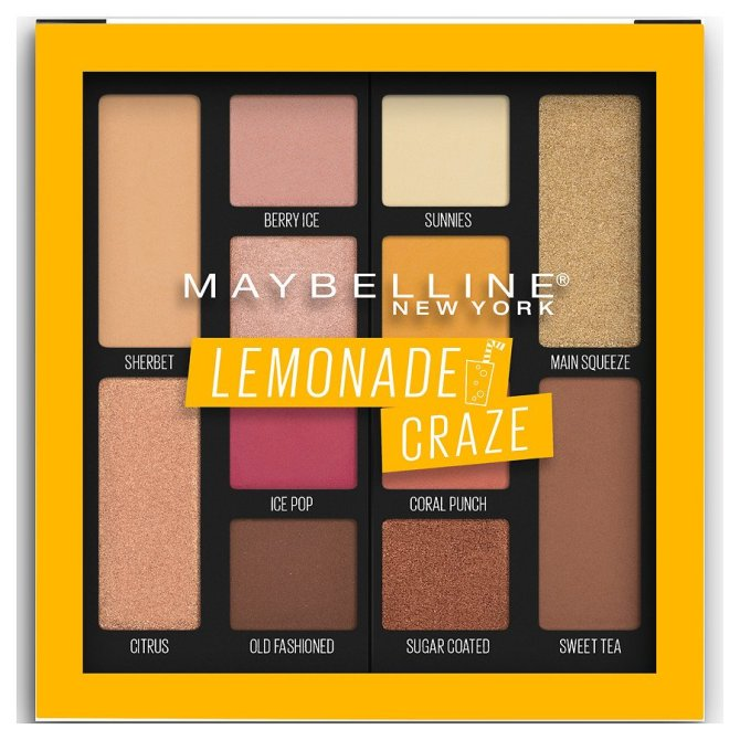 Maybelline Lemonade Craze eyeshadow stylecaster  The Drugstore Beauty Products Meghan Markles Makeup Artist Would Actually Buy