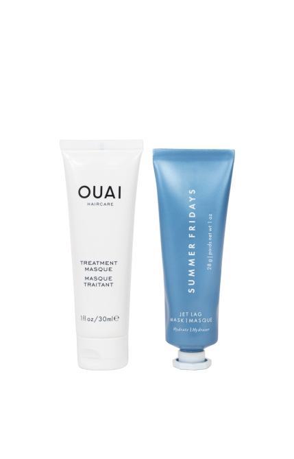 OUAI Summer Fridays stylecaster Prepare to See This Ouai x Summer Fridays Masking Set All Over Instagram