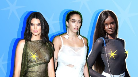 The Best Celebrity Free-the-Nipple Moments of 2018   StyleCaster