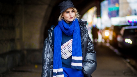 29 Next-Level Scarves Worth Cozying Up in This Winter | StyleCaster