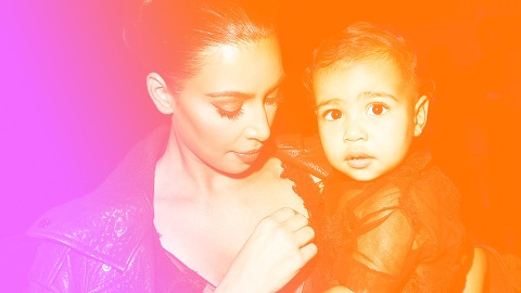 North West Channels Vintage Britney Spears in Pic with Kris Jenner and True Thompson | StyleCaster