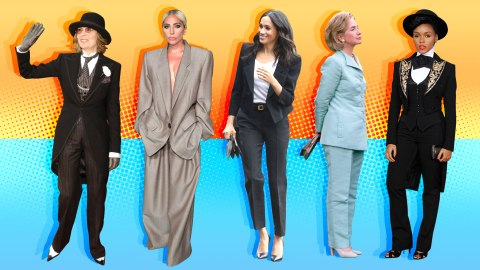 The 15 Most Memorable Suits Worn by Female Celebrities | StyleCaster