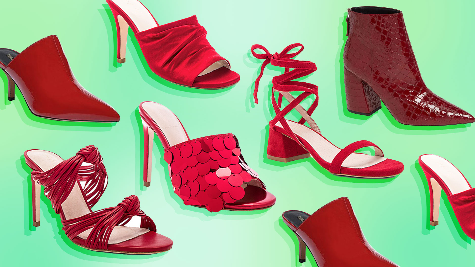 17 Pairs of Red Shoes Cute Enough to Get You Through the Holiday Season