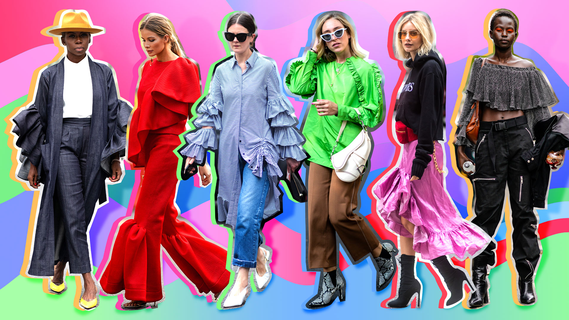 Your 2019 Fashion Forecast: Ruffles Are Back in a Big, Big Way
