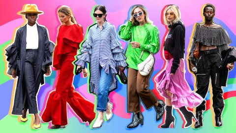 Your 2019 Fashion Forecast: Ruffles Are Back in a Big, Big Way | StyleCaster
