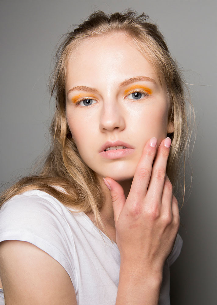 sunset eyes Makeup Trends for 2019 Will Include a Return to Matte Skin and Color Blocking