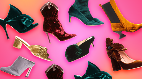 Velvet Shoes Are the Underrated Staple Any Luxe Winter Wardrobe Needs | StyleCaster