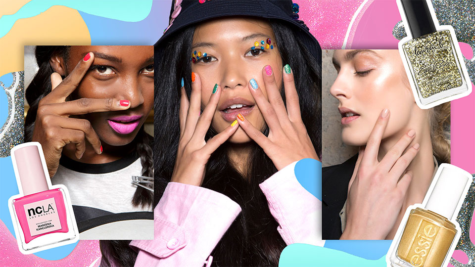 The Brightest and Boldest Nail Polish Colors You Need to Master 2019 Trends