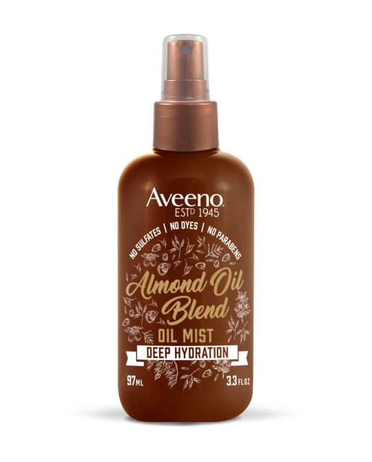 almondoil oilmist 3oz You Can Buy Farm to Table Hair Care in the Drugstore, Thanks to Aveeno
