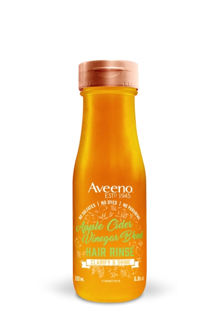 applecider rinse 6oz You Can Buy Farm to Table Hair Care in the Drugstore, Thanks to Aveeno
