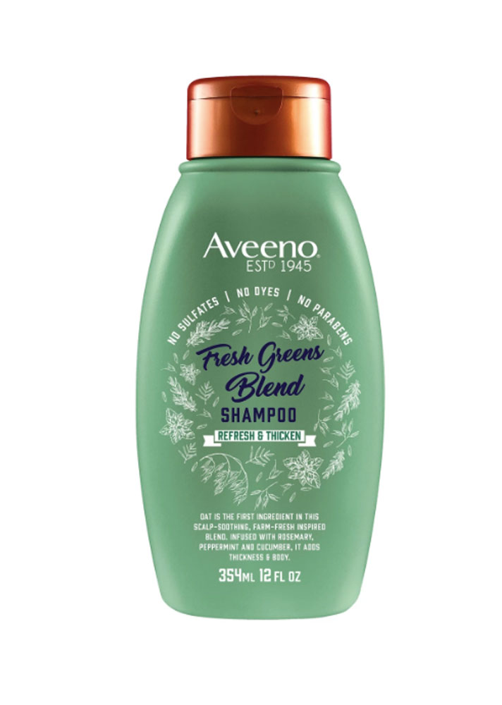 aveeno fresh greens You Can Buy Farm to Table Hair Care in the Drugstore, Thanks to Aveeno