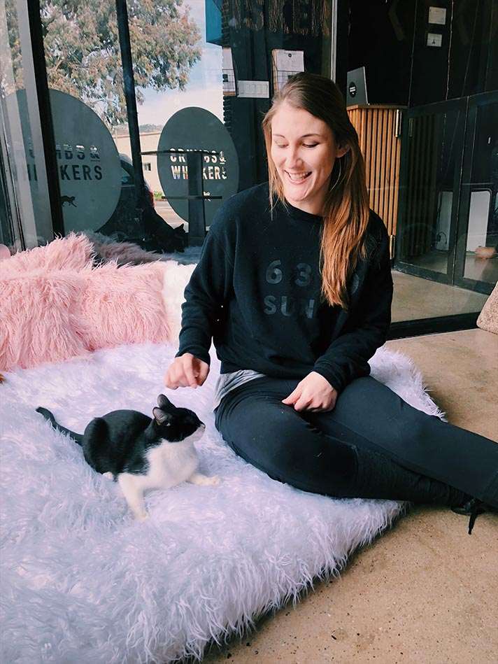 STYLECASTER | A Comprehensive Strategy for Making the Most of Your Cat Yoga Trip