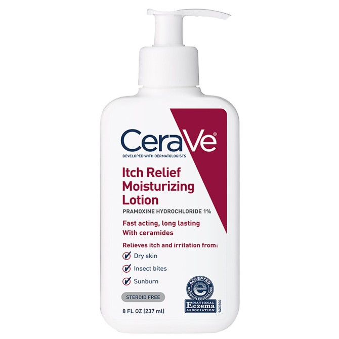 cerave itch relief lotion stylecaster This Top Drugstore Brand Just Dropped a Hyaluronic Acid Serum and It's Under $20