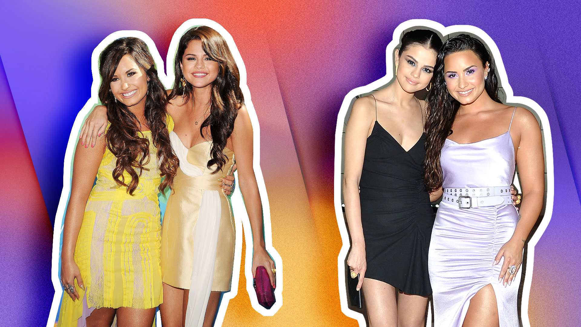 STYLECASTER | Demi Lovato and Selena Gomez Timeline