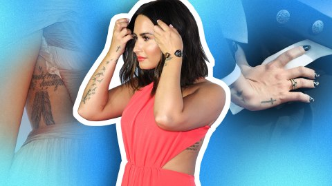 A Thorough Investigation of Demi Lovato's 19 Tattoos | StyleCaster