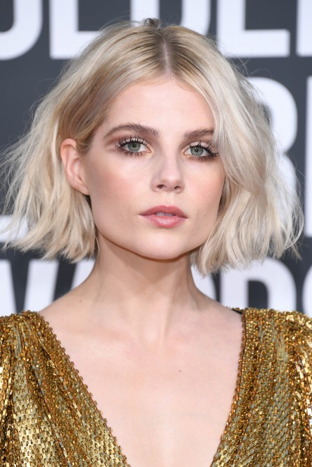 gettyimages 1078333170 This 'Bohemian Rhapsody' Star is the Undisputed Champion of Minimalist Makeup