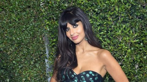Jameela Jamil Wore Sneakers With a Power Suit and We're Obsessed | StyleCaster
