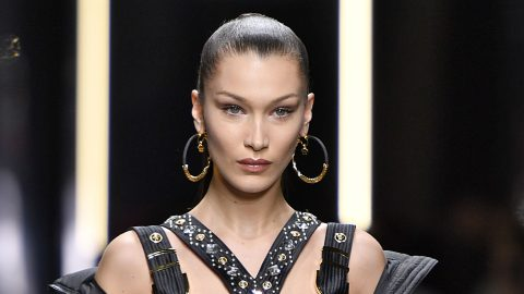 Did Bella Hadid Just Make Gingham Look Hot?   StyleCaster