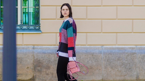 Is It Possible to Wear 2019's Patchwork Trend During the Winter? | StyleCaster