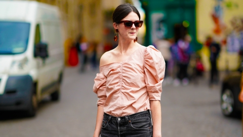 Your Guide to Ruching: The '80s Trend That's Actually Flattering | StyleCaster