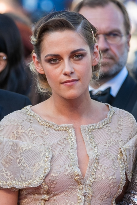 gettyimages 960238594 Of Course Kristen Stewarts Monochrome Fashion Beauty Hybrid is Flawless