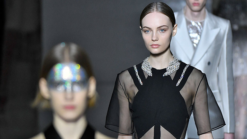 Givenchy's Spring 2019 Couture Runway is Proof You Can Never Wear Enough Glitter