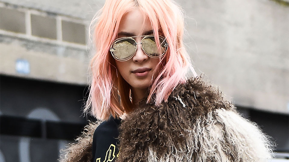 IRL Inspo for the Vibrant Hair Colors You're Going to See Everywhere in 2019
