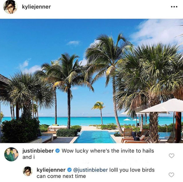 justin bieber wants an invite to kylie jenner vacation 03 We Finally Know Who Hailey Biebers Bridesmaids Will Be