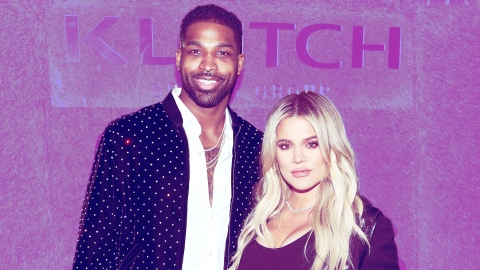 Khloé Kardashian & Tristan Thompson Reunited At The KarJenner Holiday Party | StyleCaster