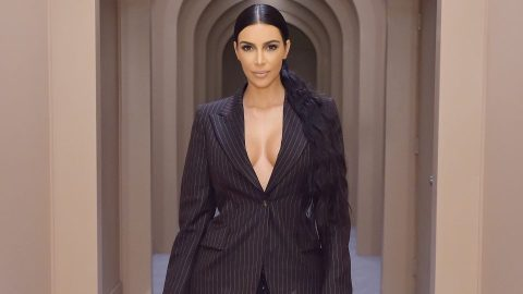 Kim K's New Nail Art Might Startle You, If You Love '90s Trends | StyleCaster