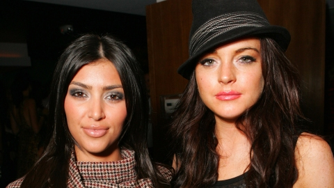 Lindsay Lohan Finally Responded to Kim K.'s Shade About Her Accent | StyleCaster