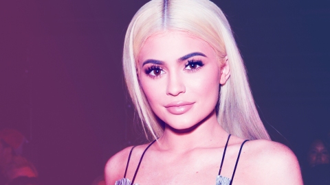 Kylie Jenner Is Basically Dripping with Sparkle in This Crystal-Covered Naked Dress | StyleCaster