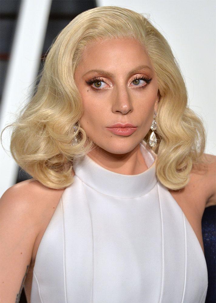 Lady Gaga-Bleached Brows.