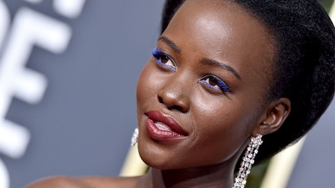 The Hidden Detail in Lupita Nyong'o's Golden Globes Hairstyle | StyleCaster