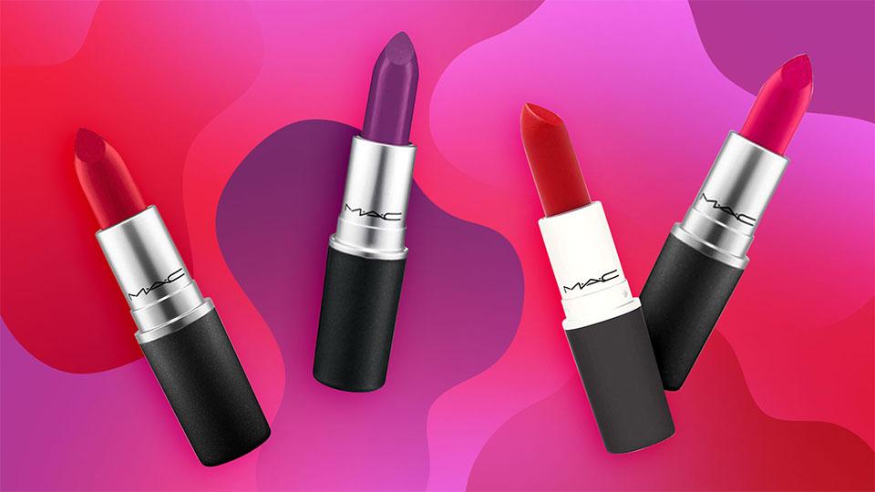 Afbeeldingsresultaat voor MAC Lustre Lipstick banner