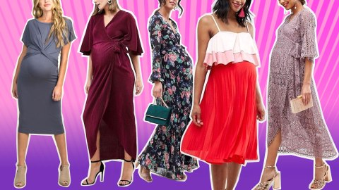 37 Cute Maternity Dresses That Are Truly Perfect for Valentine's Day | StyleCaster