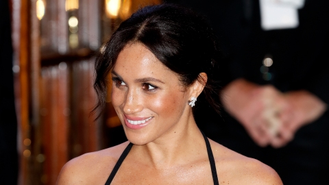Meghan Markle Wore Her First-Ever Maternity Dress & Slayed | StyleCaster