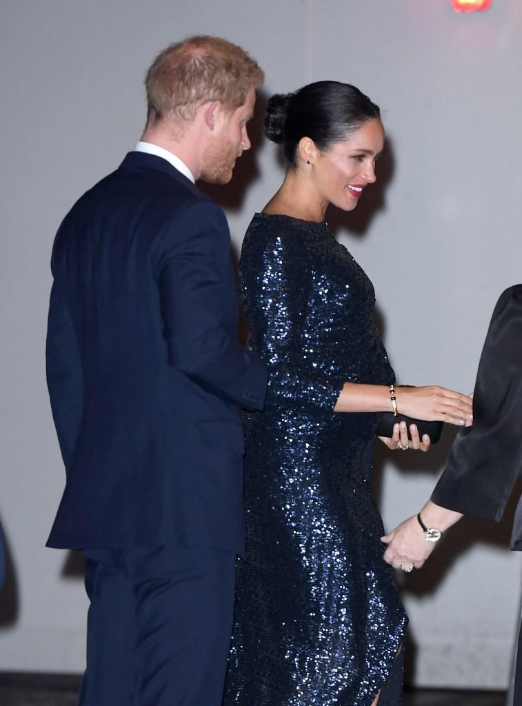 meghan markle prince harry princess Diana bracelet