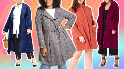 Cute Plus-Size Coats Do Exist, and We Found Them | StyleCaster