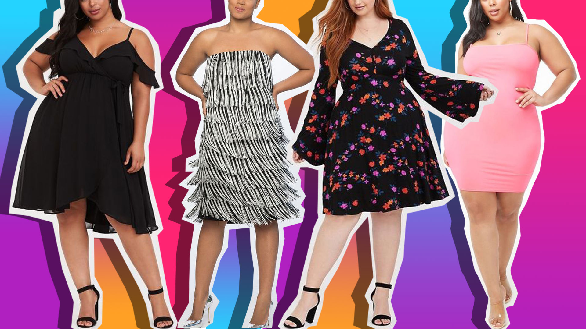 Sexy Plus-Size Dresses to Wear on Valentine's Day—and Long After