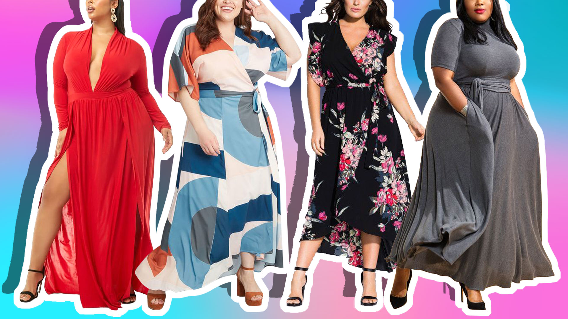 21 Plus-Size Winter Maxi Dresses for When You're Tired of Wearing Pants