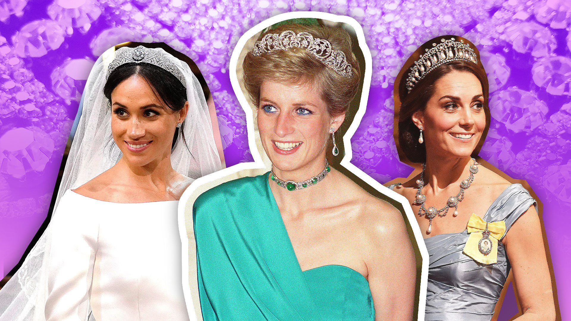 meghan markle kate middleton wearing princess diana s jewelry photos stylecaster meghan markle kate middleton wearing