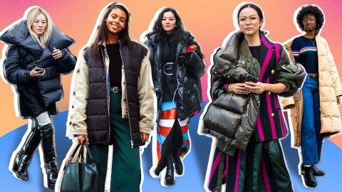 How to Style Your Favorite Puffy Coat Without Looking Like the Michelin Man | StyleCaster