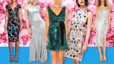 Sequin Bridesmaid Dresses Are Equal Parts Romantic and Re-Wearable | StyleCaster