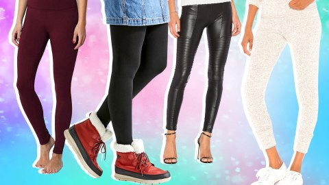 The Best Figure-Flattering Leggings You Can Score on Amazon | StyleCaster