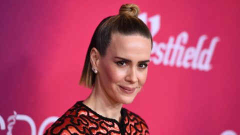 Sarah Paulson Wore the Trippiest Outfit, and We Can't Stop Staring at It   StyleCaster