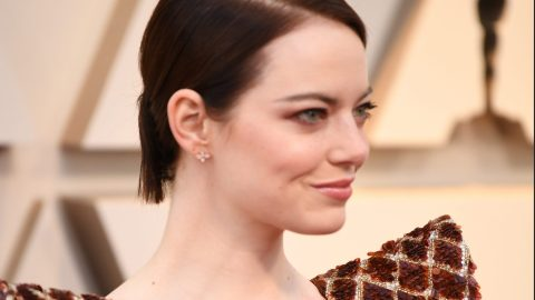 Emma Stone Stunned In a Sequined Gown at the 2019 Oscars | StyleCaster