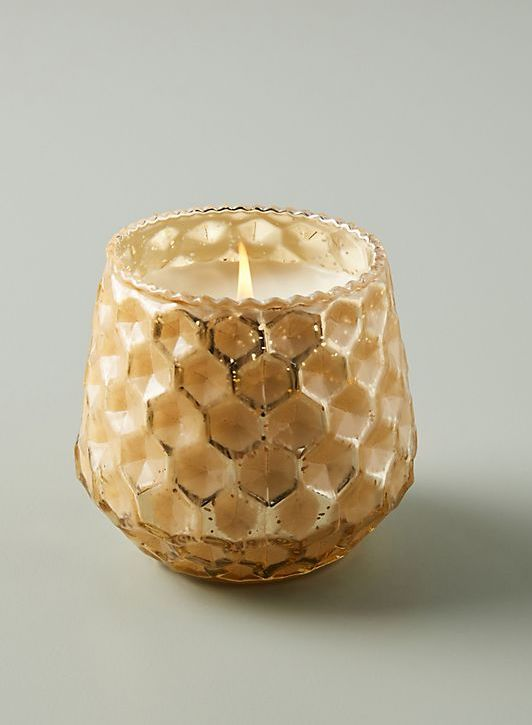 STYLECASTER | honeycomb candle | boho bedroom decor
