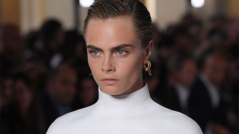 Cara Delevingne Stepped Out in the Prettiest Hairstyle for Dior's Show | StyleCaster