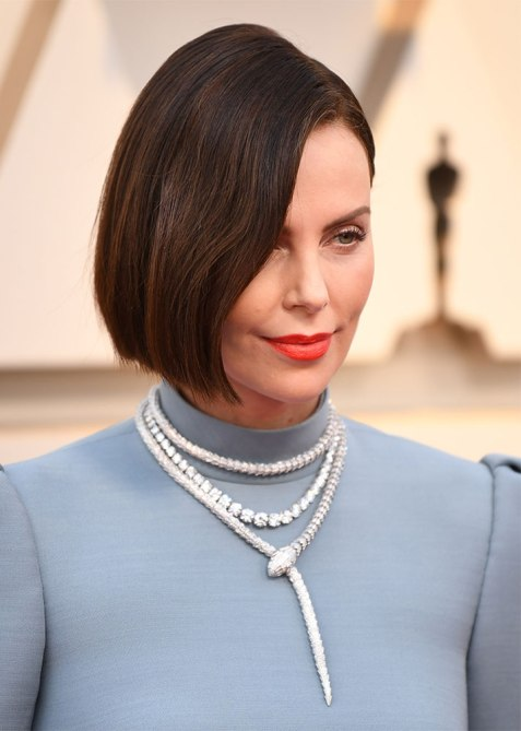 charlize theron 2 Charlize Theron Just Debuted a Major Hair Change at the 2019 Oscars